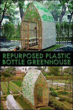 Stop throwing out all those PET bottles! Turn them into a greenhouse instead :)