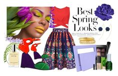 """""""Springtime Fresh...."""" by bettyboopbbw69 ❤ liked on Polyvore featuring H&M, WithChic, Boohoo, Pierre Hardy, Lamat, NARS Cosmetics, Arbonne, Ashley Pittman and Chanel"""