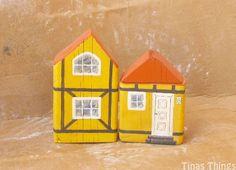 Small Danish house of wood