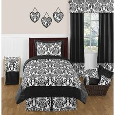Shop for Sweet Jojo Designs Girls 'Isabella' 4-piece Twin Comforter Set. Get free delivery at Overstock.com - Your Online Kids'