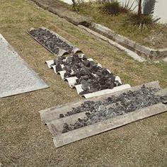 Canting cap yang sudah dipatri dibakar menggunakan arang untuk melelehkan patri dan pada akhirnya merekatkan bagian-bagian canting cap.