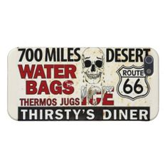 "Route 66 Festival ""Thirsty's Diner"" iPhone 5/5s Covers For iPhone 5"