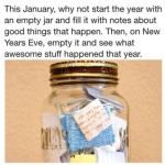 good idea for new year