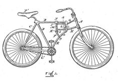 invention of a folding bike is by an American, Michael B. Ryan in his U.S. patent filing dated Dec. 26, 1893