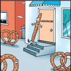 Just another visit to the Chiropractor. Let us help get your knots out!