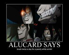 Alucard | alucard says motivational by alucardserasfangirl