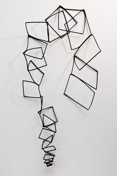 Tania Clarke Hall   - Freeform Squares Necklace