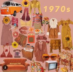 Retro Dresses i did another lil collab with (-: i had another day off from school today because of snow! 70s Inspired Fashion, 70s Fashion, Look Fashion, Vintage Fashion, Classy Fashion, Fashion News, 70s Outfits, Vintage Outfits, Cool Outfits