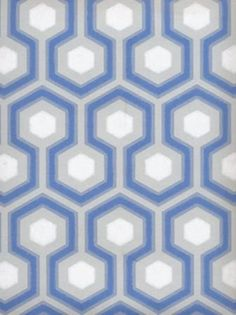 Geometric Wallpaper  Cole & Son New Contemporary Hicks Hexagon (66-8054)