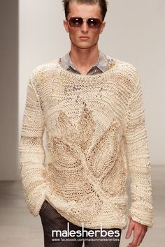 maison-malesherbes: [ Fashion ] James Long SS2012 Please follow us on our FACKBOOK page, if you interested and also to know more about us and crochet, knitting, arts, fashion, movies and more… https://www.facebook.com/maisonmalesherbes/
