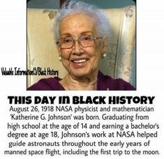 Katherine G. Johnson: NASA Physicist and Mathematician.