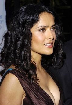 Salma Hayek during 2004 Latin Recording Academy Person of the Year Tribute Event Honoring Carlos Santana at Century Plaza Hotel in Los Angeles...