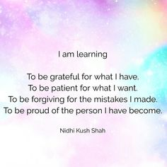 Always learning #nidhikushshah #quoteoftheday #inspiration #lifehacks #motivation #wordstoliveby #wordsofwisdom #growth #positive #affirmations #success #ladyboss #girlboss #dreambelieveachieve #keynotespeaker #coaching #blogger #entrepreneur #mom #mompreneur #mommylife #mantra #gratitude #lifequotes #happiness