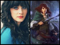 Harem Goddess, Lady Lennie Freeman ~ played by Zooey Deschanel. Zooey Deschanel, Richard Armitage, Sisters, Lady, Daughters, Big Sisters