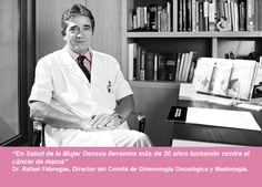 Dr. Fábregas: Llevamos más de 30 años luchando contra el cáncer de mama