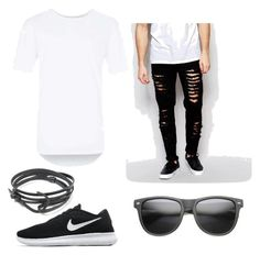 """""""Untitled #7"""" by muamermrkovic ❤ liked on Polyvore featuring Topman, NIKE, MIANSAI, Other, men's fashion and menswear"""