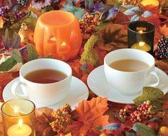 Halloween tea…