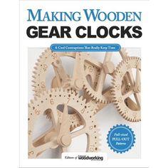 Wooden Clock Plans, Wooden Gear Clock, Wooden Gears, Wood Clocks, Wood Plans, Woodworking Workbench, Woodworking Crafts, Woodworking Projects, Wood Projects