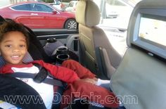 Autotain Magic Headrest DVD Players installed in 2009 Volkswagen Routan. #headrestdvdplayer #familydriving