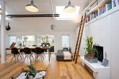 great livingspace in former garage