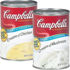 Campbell's® Cream Soups  $1.20 Each