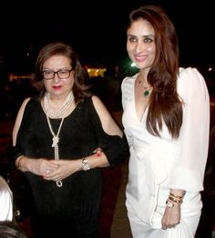Kareena Kapoor Khan with Mother Babita