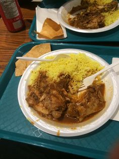 A Taste of India Foods - Halifax, NS, Canada. Two pieces of chicken curry and rice for less than $5! I'm sold. India Food, Chicken Curry, Places To Eat, Food Photo, Trips, Road Trip, Canada, Foods, Vacation