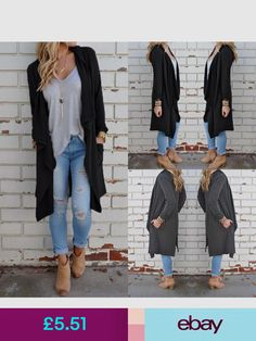99ec3c3328f Zanzea Coats   Jackets  ebay  Clothes