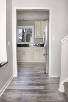 Unbelievable 70's Home Remodel with Modern Touches and Reclaimed Floors! #modernWoodFlooring