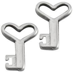 Bedel sleutel zilver