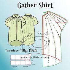 Pattern Puzzle - Gather Shirt