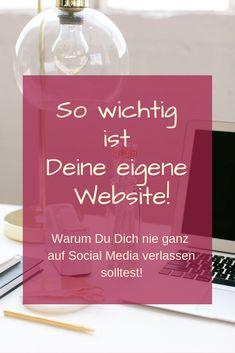 Warum Deine eigene Website so wichtig ist! - Elke Schmalfeld