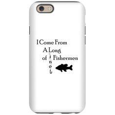 Fishing Line iPhone 6 Tough Case on CafePress.com