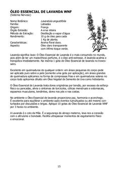 ÓLEO ESSENCIAL DE LEMONGRASS WNF(Memória, Criatividade e Concentração)Nome Botânico:  Cymbopogon scoenanthus Cymbopog...