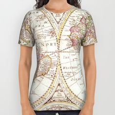 An Accurate Map All Over Print Shirt by Catherine Holcombe | Society6