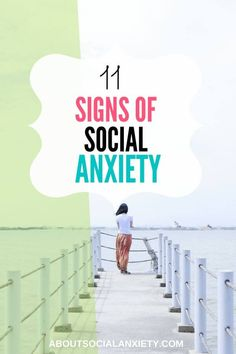 Do you know what the signs of social anxiety are? Here is a list to consider when deciding whether social anxiety is a problem for you. How To Control Anxiety, Do I Have Anxiety, Anxiety Help, Stress And Anxiety, Controlling Anxiety, Health Anxiety, Work Stress, Mental Health, Social Anxiety Treatment