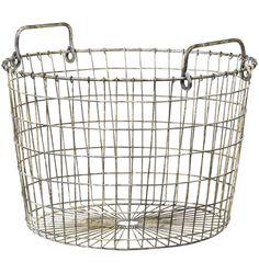 Small Wire Potato Basket