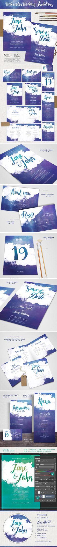 wedding invitation design psd%0A Postcard Sweet Wedding Invitation   Edit text  Postcard template and  Template