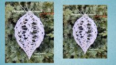 Bombka na szydełku 13 cm . Autor wzoru/ Author  Renia K. Christmas ball crochet tutorial. No. 2