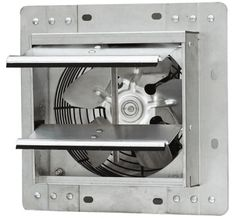 Shop for iLiving Wall-Mounted Variable Speed Shutter Exhaust Fan Crawl Space Ventilator, Get free delivery On EVERYTHING* Overstock - Your Online Home Improvement Shop! Crawl Space Ventilation, Ventilation System, Solar Attic Fan, Solar Fan, Attic Vents, Window Fans, Fans For Sale, Wall Fans, Exhausted