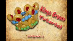 Balloon Magic - The Magazine Bonus Video Featuring Jackie Ochitwa Balloon Crown, Balloon Hat, Balloon Animals, Columns Decor, Princess Balloons, Its A Boy Balloons, Kings Day, Kings Crown, Dad Jokes