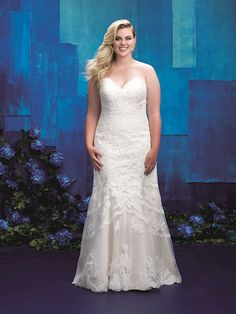 ec3c6b130a8 Allure W391. Plus Size Wedding Gowns