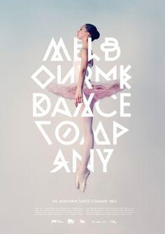 #Typography Ballerina Design