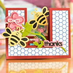 Sizzix Friends Forever Step-ups Card Die Set