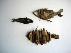 Drift Wood Fish