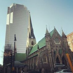Montreal Cathedral Christ Church - @debmtl - #webstagram