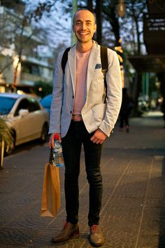 Great look for spring. OTC - BUENOS AIRES STREET STYLE