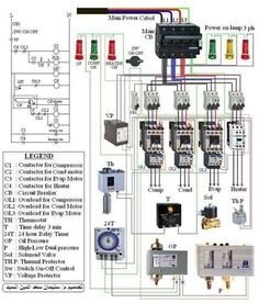 Electrical Wiring Colours, Electrical Circuit Diagram, Electrical Wiring Diagram, Electrical Engineering Books, Electronic Engineering, Refrigeration And Air Conditioning, Electrical Installation, Guitar Effects Pedals, Heat Pump