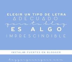 Tutorial Blogger: Como instalar fuentes en Blogger http://blgs.co/KSza54