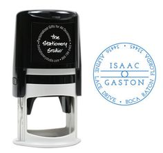 Gaston Self Inking Stamper